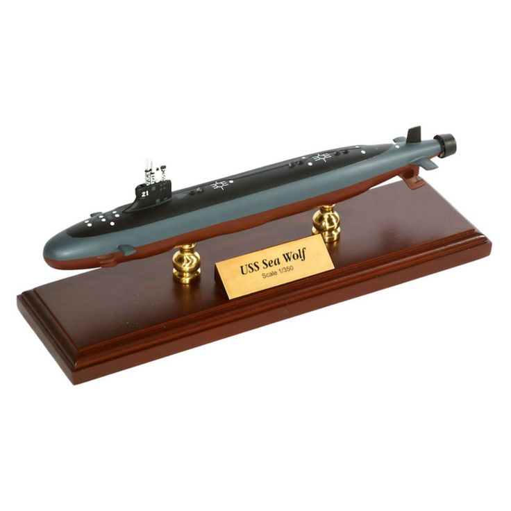 Daron Worldwide General Dynamics Electric Boat Seawolf Class Submarine 1/350 Scale Model Boat - MBSSC