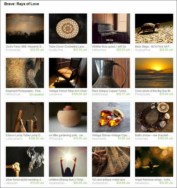 Etsy treasury - Curated by  Michelle White from SPARKLESandSASS on Etsy.  Brave team honors all those who battle cancer.