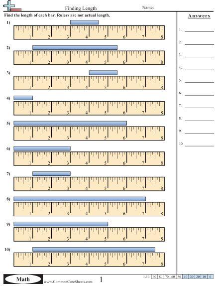 17 best ideas about measurement worksheets on pinterest kindergarten math measurement. Black Bedroom Furniture Sets. Home Design Ideas