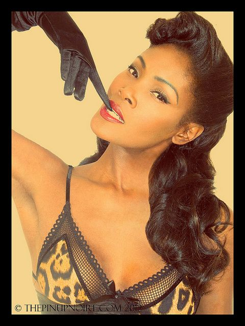 Black Pin Up Hairstyles | Recent Photos The Commons Getty Collection Galleries World Map App ...
