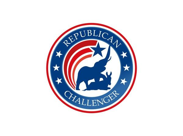 Logo for political web site RepublicanChallenger.com by bounty hunter