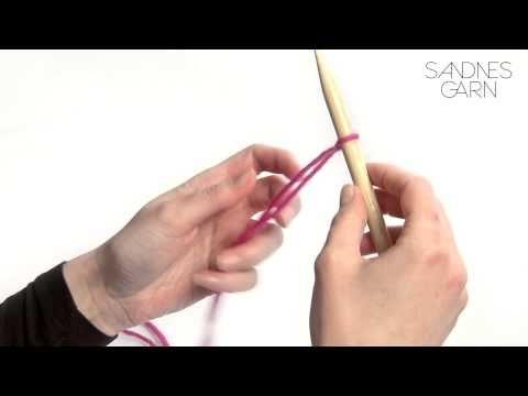 Sandnes Garn - Hvordan legge opp - YouTube