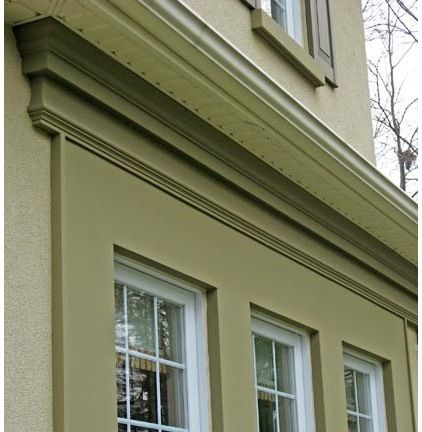 15 best images about garages on pinterest for Exterior stucco trim ideas