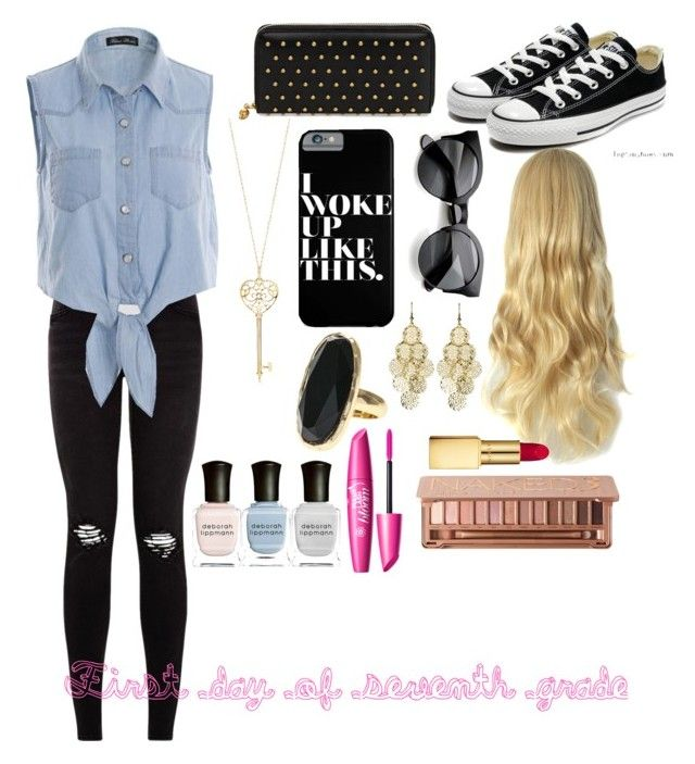 """First day of 7th grade outfit"" by ccsglow on Polyvore"