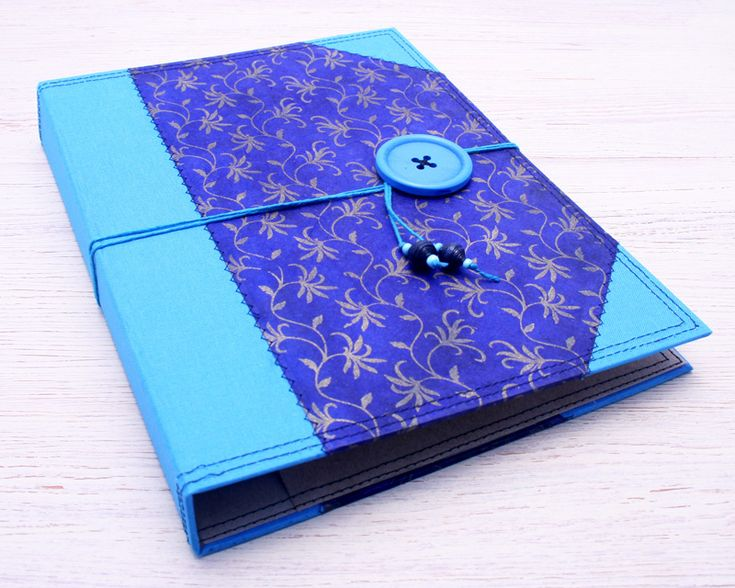 Notebook Cover Folder by Little Deer Studio. Fits any A5 size notebook