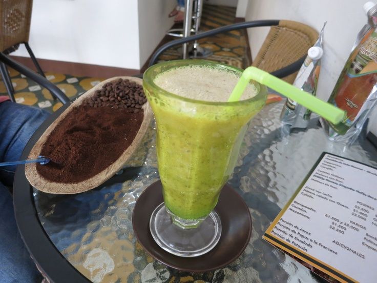 Panela Syrup Drink - Either Passion Fruit or Lemon Balm, can't remember which flavor