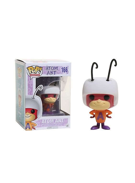 Funko Hanna-Barbera Pop! Animation Atom Ant Vinyl Figure,