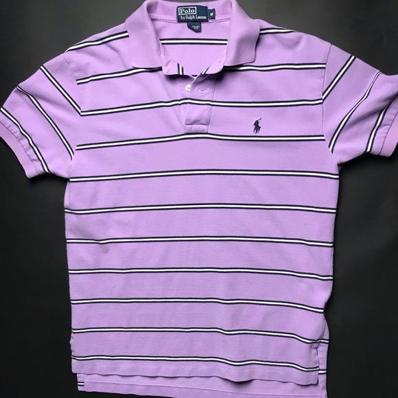 Shop Men's Polo by Ralph Lauren Purple size M Polos at a discounted price at Poshmark. Description: Nice lavender color! Fits great no fade! No holes. Still in great conditions!. Sold by mikeymeza. Fast delivery, full service customer support.
