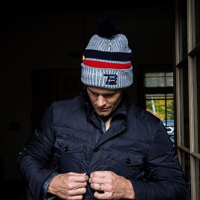 We promote #mentaltoughness at TB12, but having an uncovered head in the cold, isn't the toughness we're talking about. #WinterHats are back at #TB12, just ask @tombrady (link in bio)