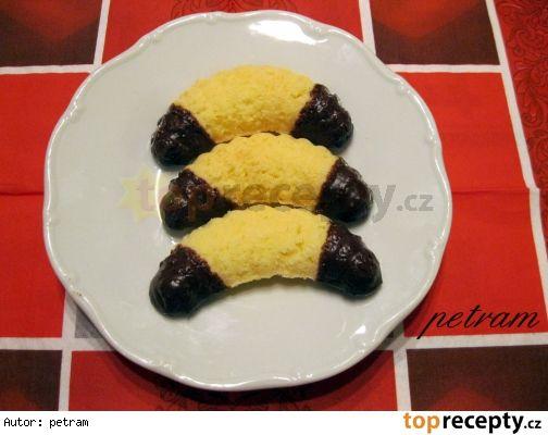 Kokosové rohlíčky do formiček bez lepku, mléka a vajec