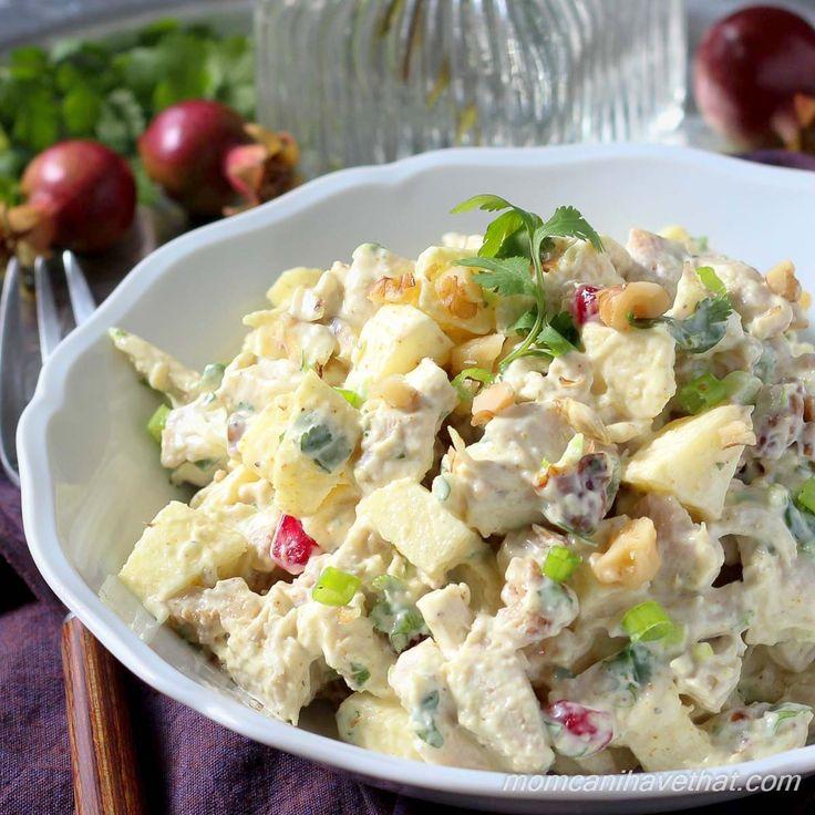 Easy leftover chicken salad recipe