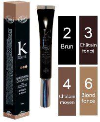 le mascara pour cheveux, une solution rapide, efficace et naturelle pour couvrir les cheveux blancs entre deux colorations
