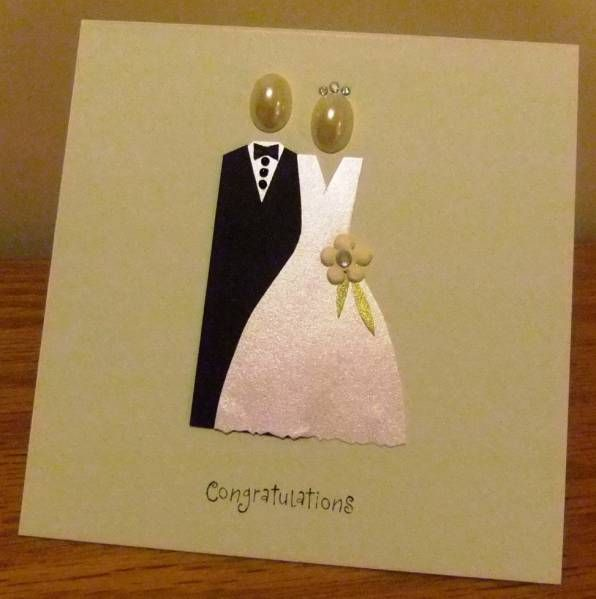 Simplecute Homemade Wedding Card