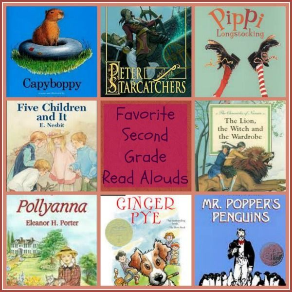 favorite second grade books - need a new read aloud? Here's a list of great read aloud books for 2nd graders.