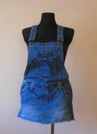 Kup mój przedmiot na #vintedpl http://www.vinted.pl/damska-odziez/krotkie-sukienki/16288027-denim-co-jeans-sukienka-ogrodniczka-mini-38