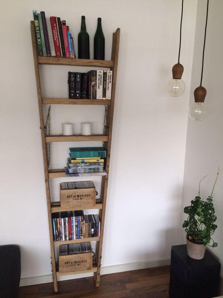Reol ladder stigereol