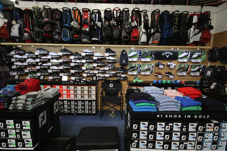 Shoe Department at The Gloucester Golf Superstore