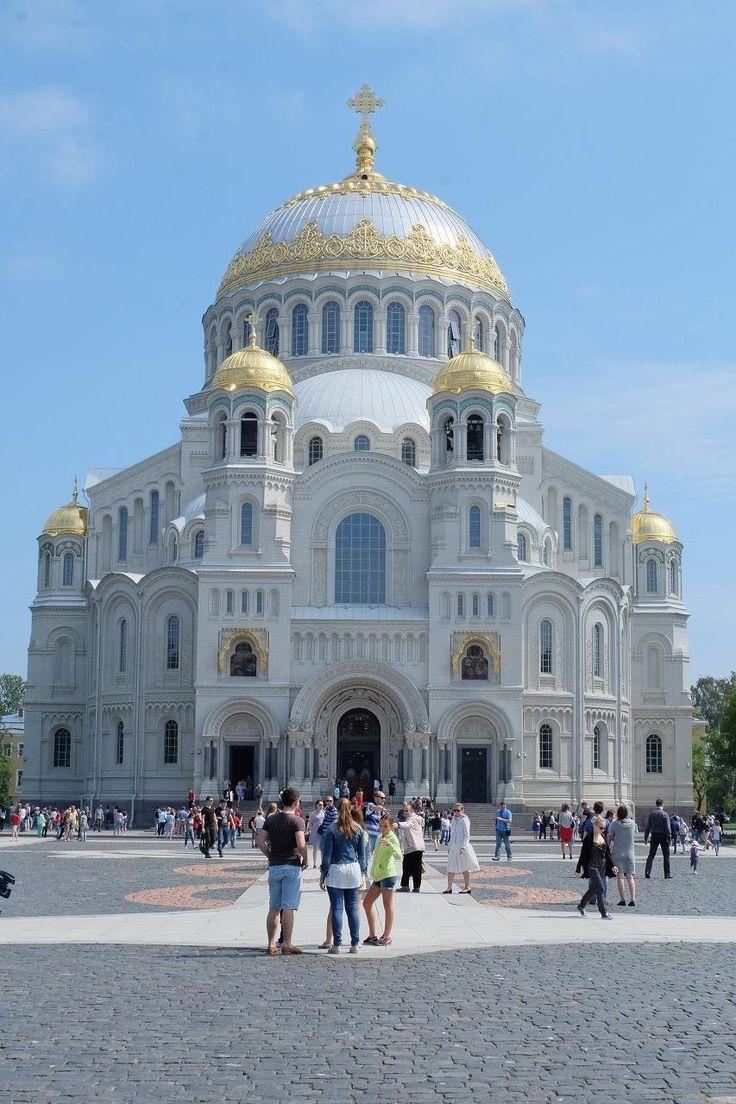ロシア観光2016 サンクトペテルブルグ 8日目 クロンシュタット ... 6月25日土曜日<br />今日はフィンランド湾に浮かぶコリトン
