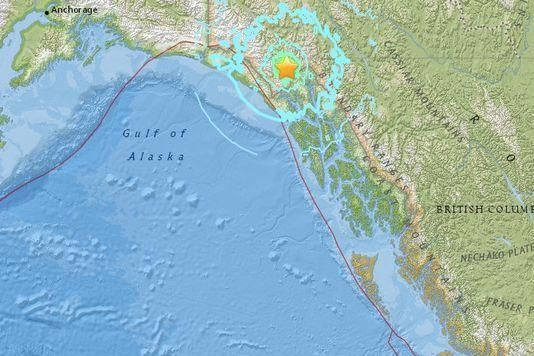 Parts of Alaska and Canada braced for more aftershocks after two major earthquakes rattled the region on Monday.