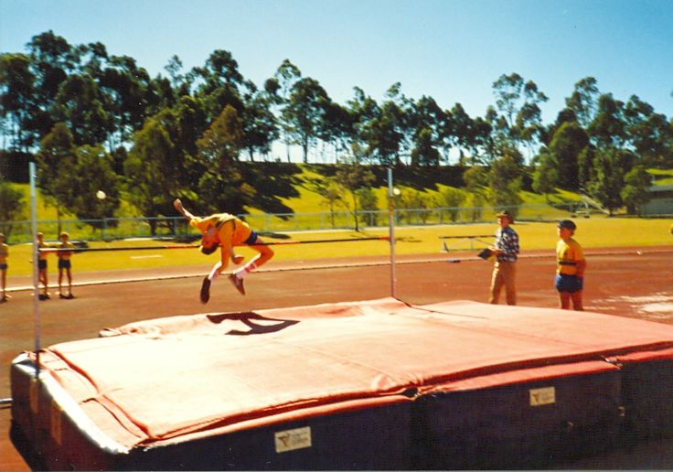 Class of 1990  High Jump, Athletics Day
