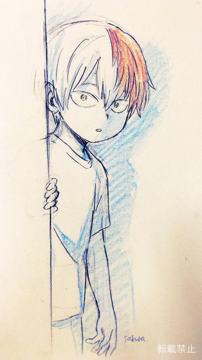 Boku no Hero Academia    Todoroki Shouto  I really like the coloring for this