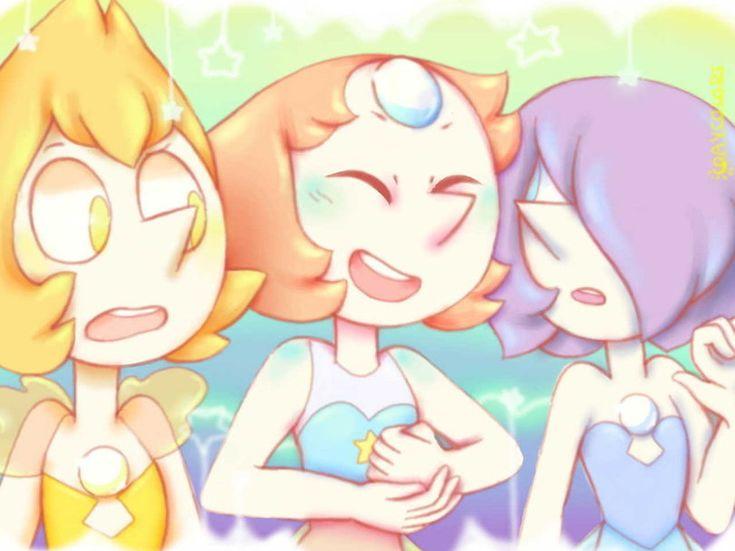 Steven universe,фэндомы,Pearl (SU),SU Персонажи,Blue Pearl,Yellow Pearl,Daycolors