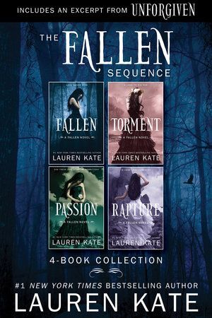 A 4-book digital collection ofthe bestselling FALLEN novels: FALLEN, TORMENT, PASSION, and RAPTURE, available together for the first time in an ebook omnibus edition with a preview chapter of Lauren...