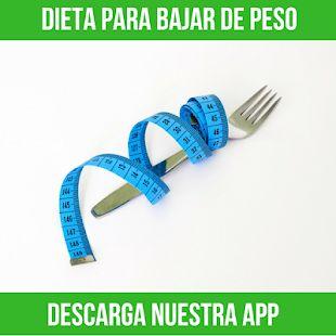 Dieta para bajar de peso es una app que te enseña las mejores dietas para adelg…