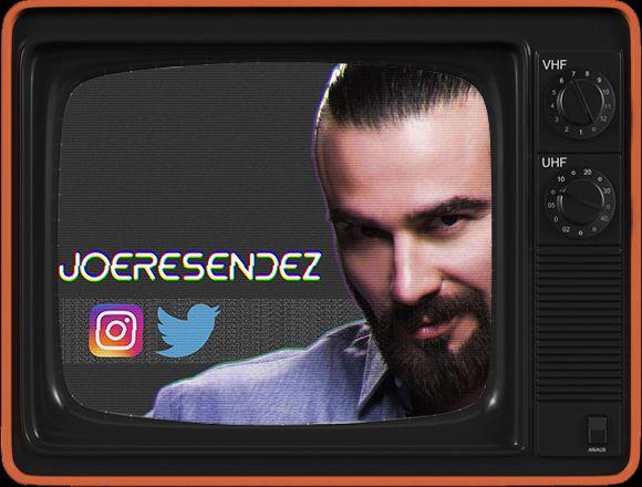 Glitch mode; 90's style. Papi Teca #JoseLuisResendez y sus perfiles en Redes Sociales