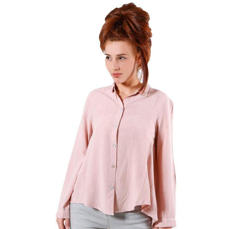 ALE Αέρινη ροζ πουκαμίσα