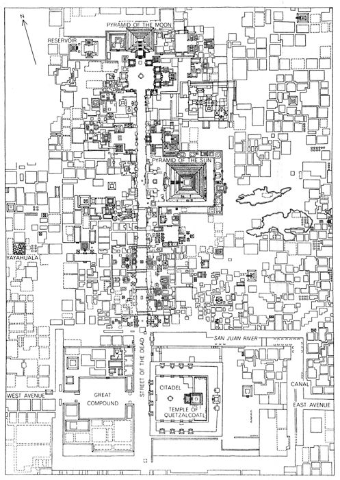 archiveofaffinities: Plan, Teotihuacan, Mexico