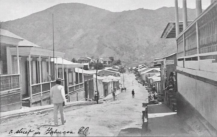 Mi pueblo en el año 1900 Yabucoa, Puerto Rico