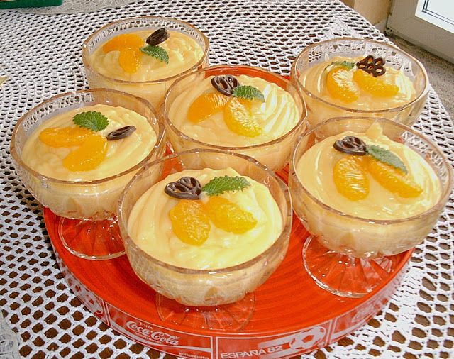 Beste Kuchen: Feine Orangencreme