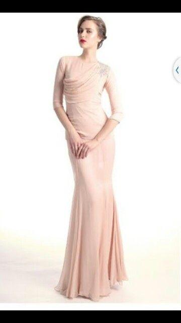 Nurita Harith simple dress