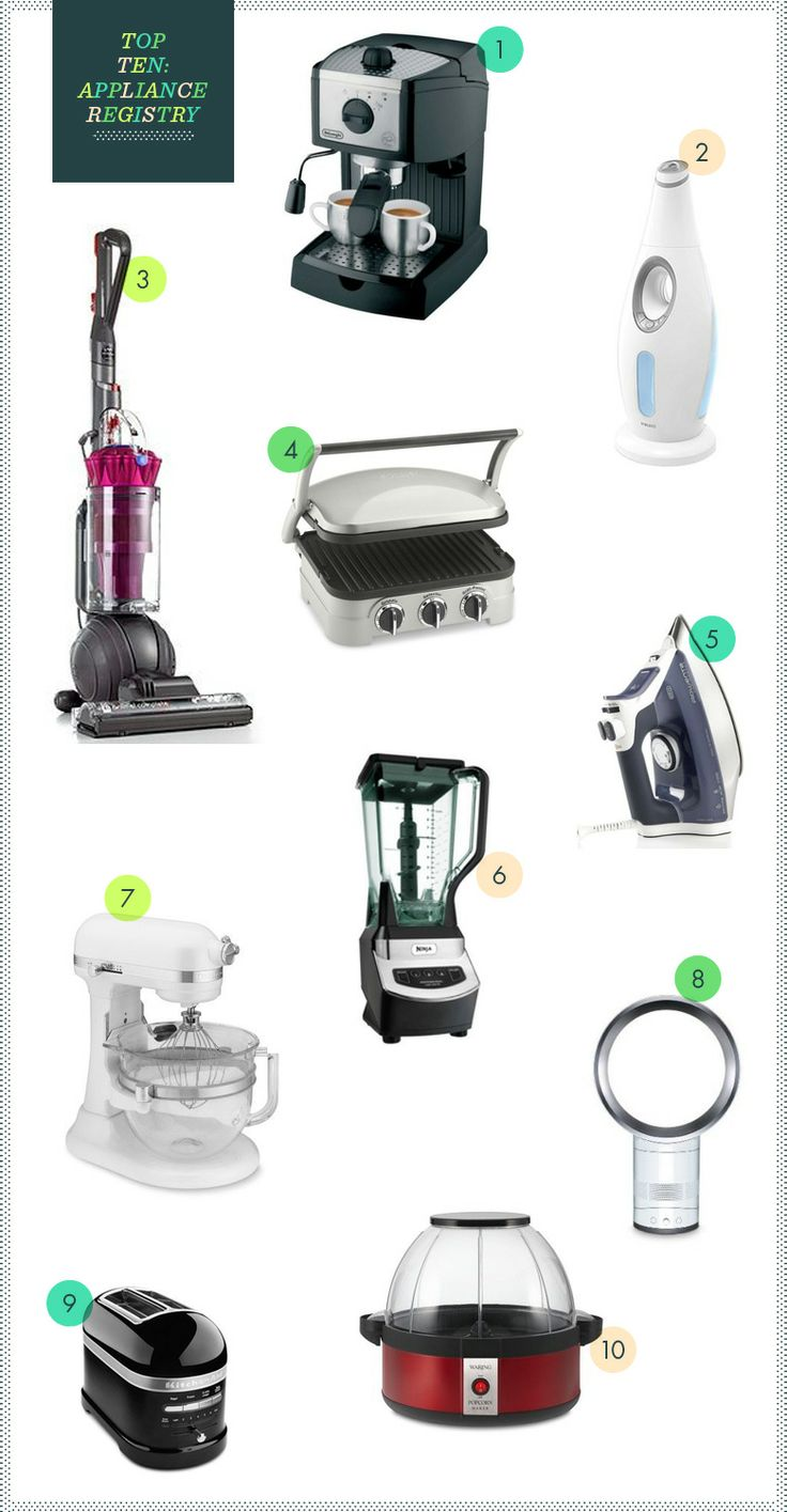 Uncategorized Top Ten Kitchen Appliances 10 best images about kitchen on pinterest these are definitely the number one appliances gotta agree with that but what do