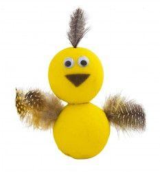 Paper Ball Chicken - Craft Activity