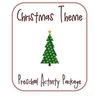 There is a little of everything in this package.    Build a Snowman  Memory Game  Christmas Patterns  Christmas Puzzle  Lacer Christmas Tree  Rudolph Color Match  Number Match  ABC Tracer Cards  Sort The Santa's by size  Counting Practice
