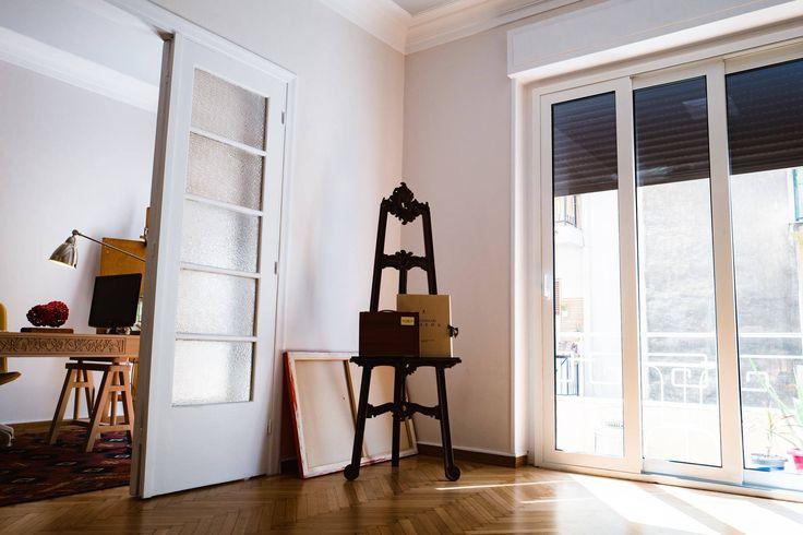 Art Deco House, Living Area, Dimitra Marini, Architects