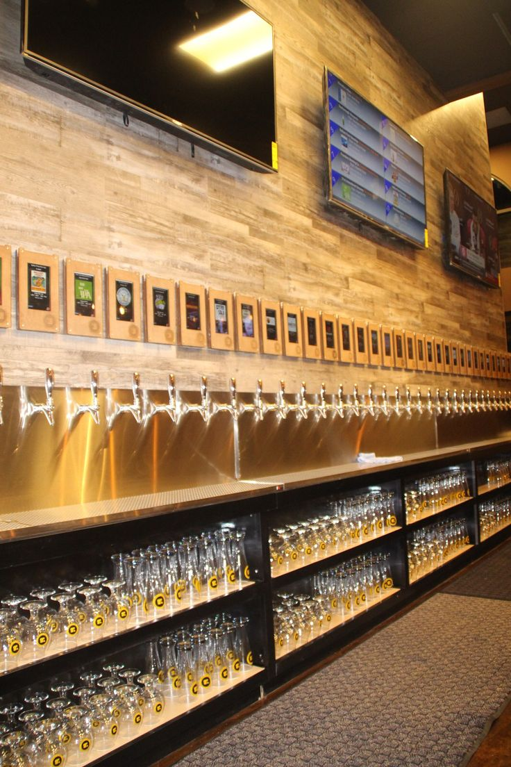 Self serve craft beer bar in Dublin, CA with 35 Beers and