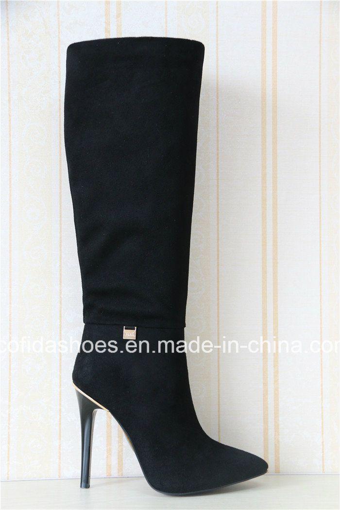 New Elegant Sexy High Heels Fashion Lady Winter Boots