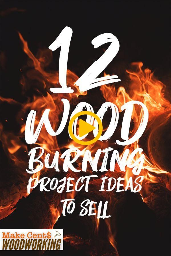12 Wood Burning project ideas you can make and sell for ...