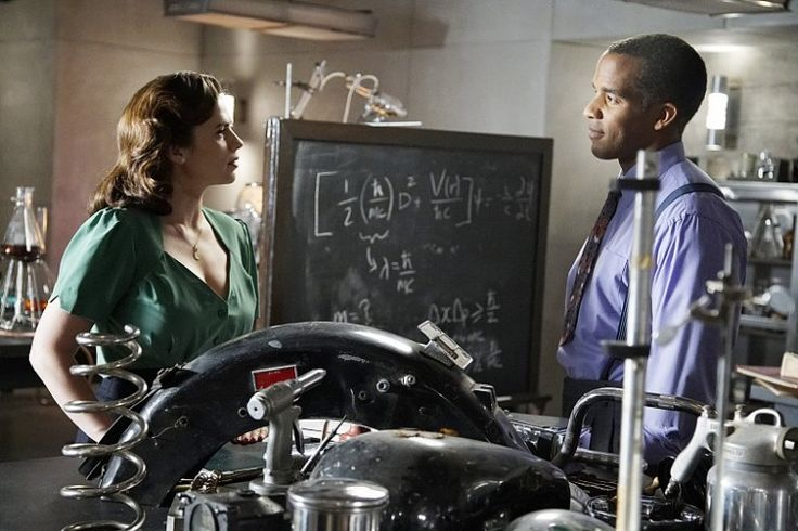 Hayley Atwell and Reggie Austin