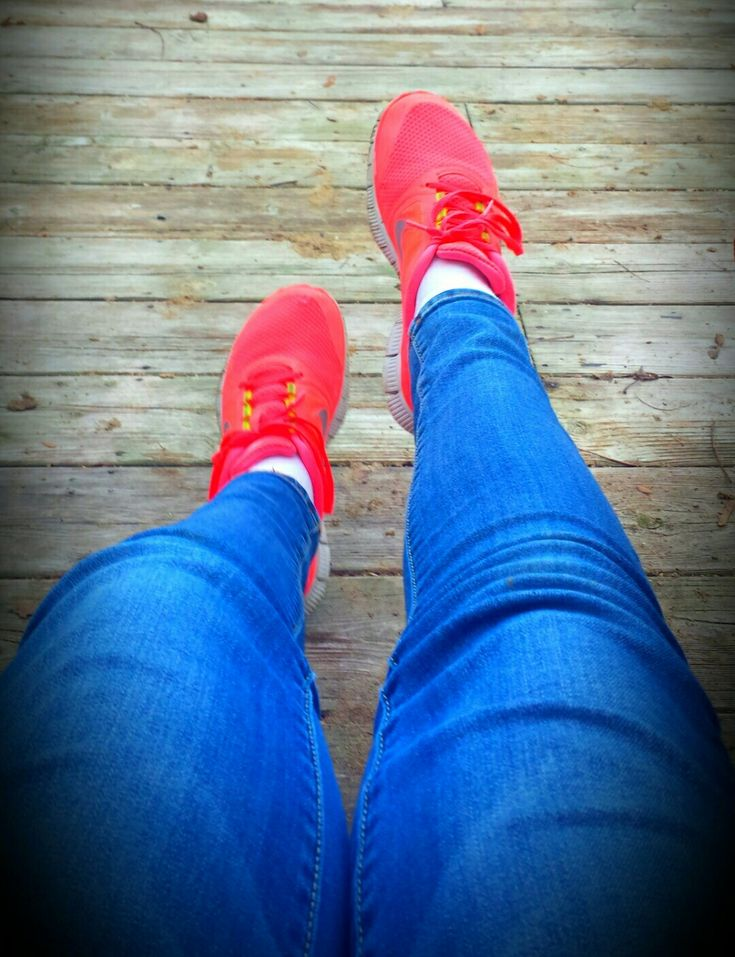 Love My Shoes,They totally match To all Fall Colours!
