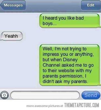 Bad boy, bad boy, whatcha gonna do?