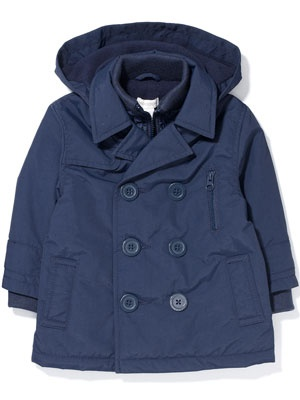 Baby boy - everyone needs a coat for NYC winters