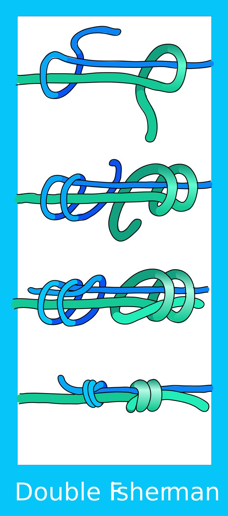 double fisherman's knot - Google Search