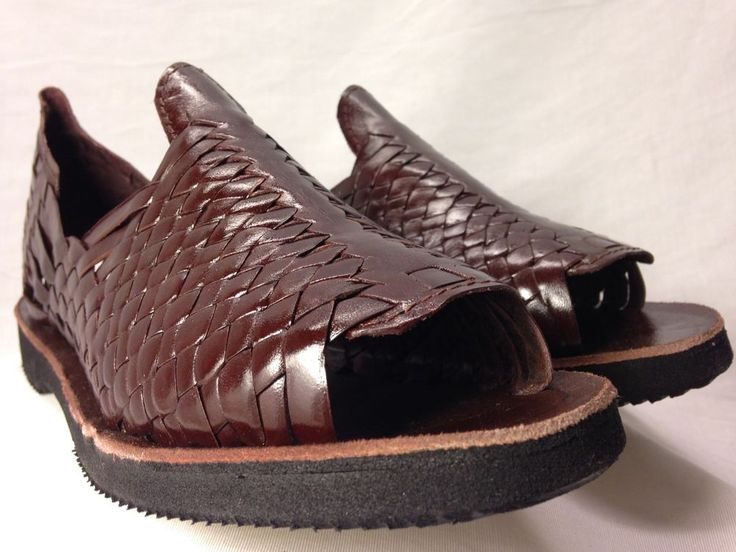 mens LEATHER MEXICAN SANDALS HUARACHE made in mexico SHOES | Huarache,  Sandals and Leather