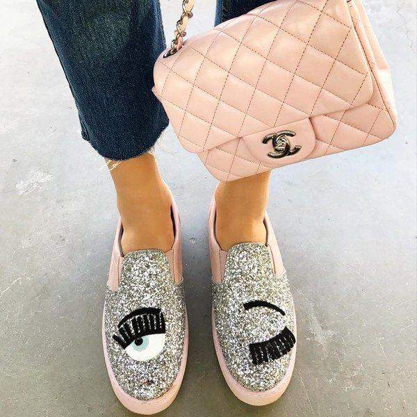 Os sapatos da Chiara Ferragni no Brasil