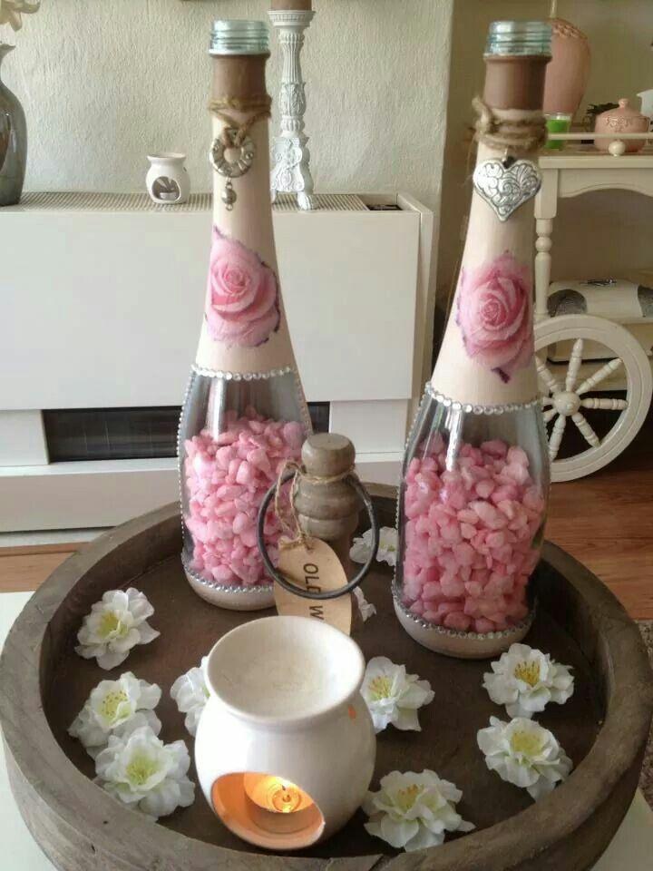 Flessen pimpen