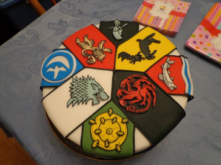 game of thrones divergent | game of thrones house sigils birthday cake